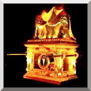 ARK of the COVENANT with CHERUBIMS over the MERCY SEAT